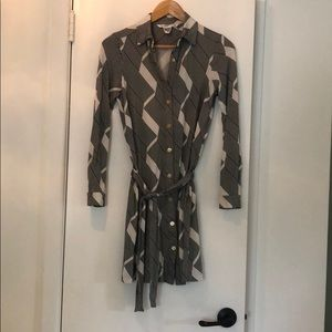 Diane Von Furstenberg Geometric Dress